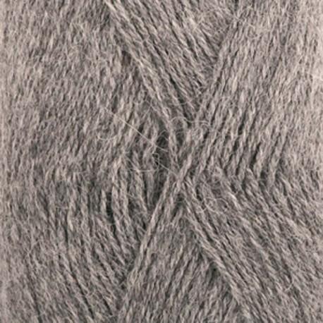 Image of   DROPS Alpaca garn 517 Mellemgrå