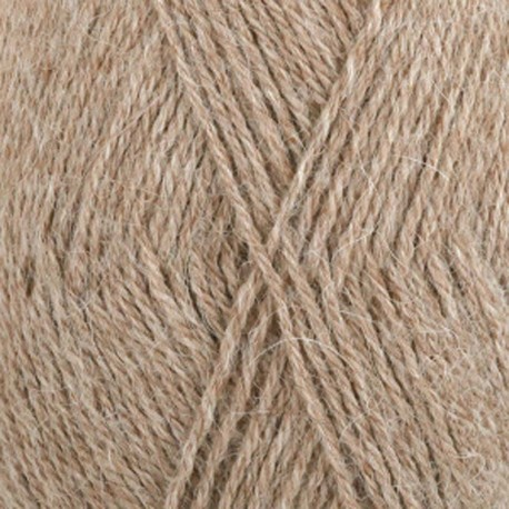 Image of   DROPS Alpaca garn 618 Lys beige