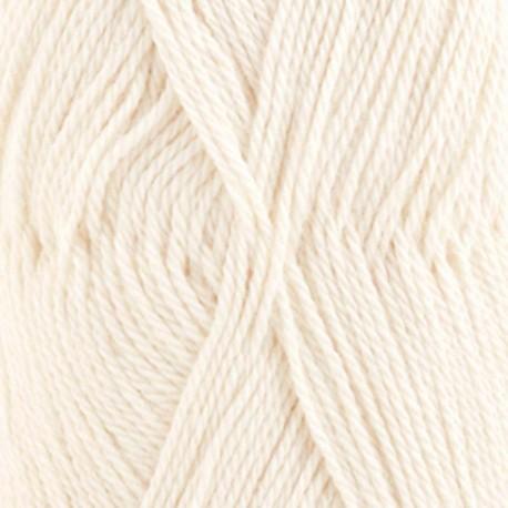 Image of   DROPS BabyAlpaca Silk garn 100 Natur