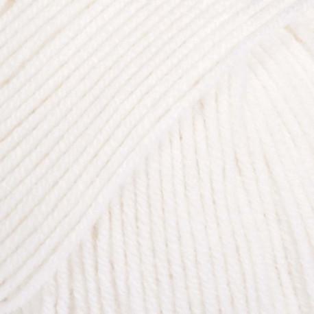 Image of   DROPS Baby Merino Garn 01 Hvid