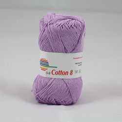 G-B Cotton 8 1480 lys lilla