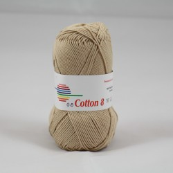 G-B Cotton 8 1530 beige