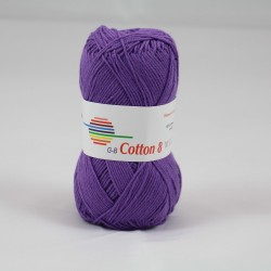 G-B Cotton 8 1510 lilla