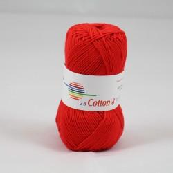 G-B Cotton 8 1030 rød