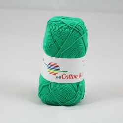 G-B Cotton 8 1451 grøn