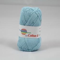 G-B Cotton 8 1420 blå