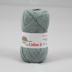 G-B Cotton 8 1450 lysegrå