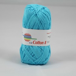 G-B Cotton 8 1460 is blå