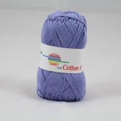 G-B Cotton 8 1435 støvet lilla