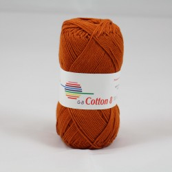G-B Cotton 8 1540 rust