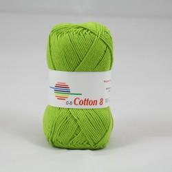 G-B Cotton 8 1423 lyse grøn