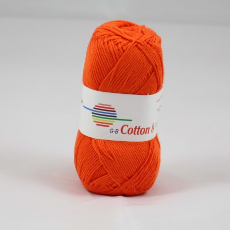 G-B Cotton 8 1710 orange