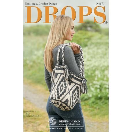 Billede af Drops katalog nr. 173 med strikke- og hækleopskrifter