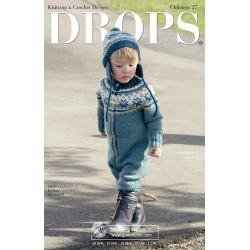 Drops børn katalog nr. 27 med strikke- og hækleopskrifter