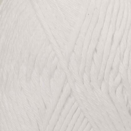 Image of DROPS Paris Garn unicolor 16 Hvid