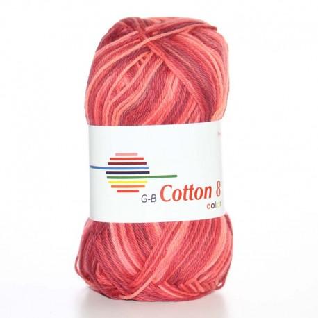Image of G-B Cotton 8 mix 03 Rød