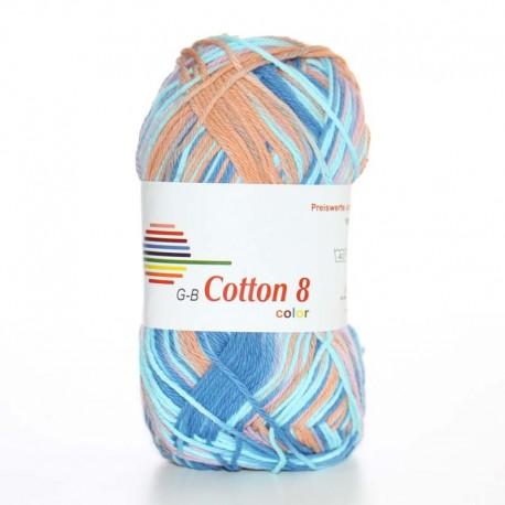 Image of G-B Cotton 8 mix 04 Lilla-blå
