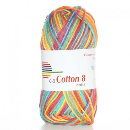 Image of G-B Cotton 8 mix 06 Regnbue