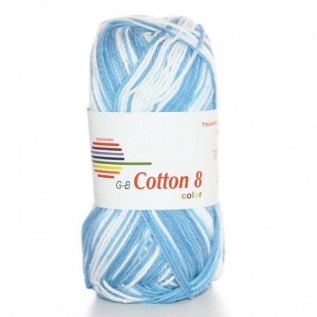 Image of G-B Cotton 8 mix 07 Lyseblå