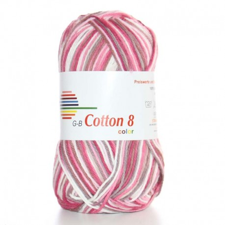 Image of G-B Cotton 8 mix 09 Pink
